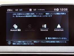 純正タッチスクリーンオーディオは、CarPlayやAndroid Autoに対応しております!Bluetooth設定も簡単に行えます。
