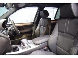 上品なオプション装備のブラックレザーシートは長時間のドライブも快適にお過ごし頂けます!シートヒーター・メモリー機能付きパワーシートを搭載!