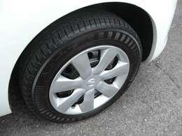 タイヤの残りも充分あります