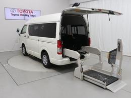 トヨタ ハイエースバン 2.0 ウェルキャブ Bタイプ ロング 福祉車両 車検整備付 ドラレコ SDナビ 10人