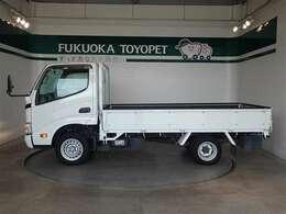 トヨタの4ナンバートラック、トヨエース ロング ジャストローが入荷しました。
