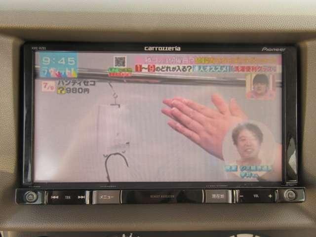 ワンセグTV視聴/CD・DVD再生/AM・FMラジオ聴けます♪