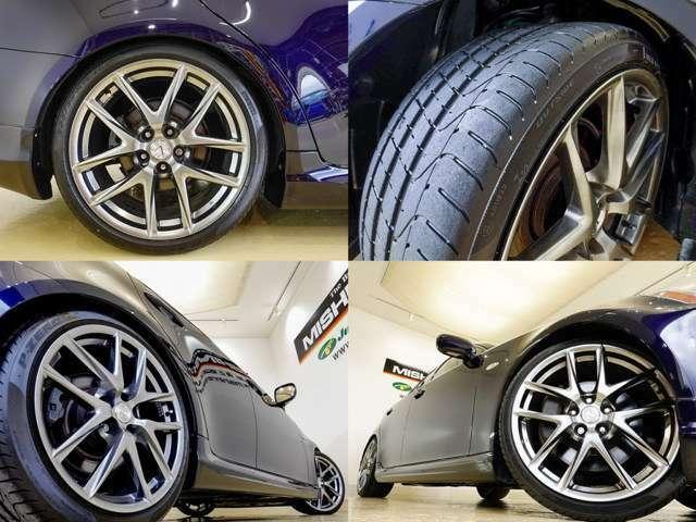 19インチアルミホイル装備済み デザインも素敵ですね タイヤの山も有りますよ