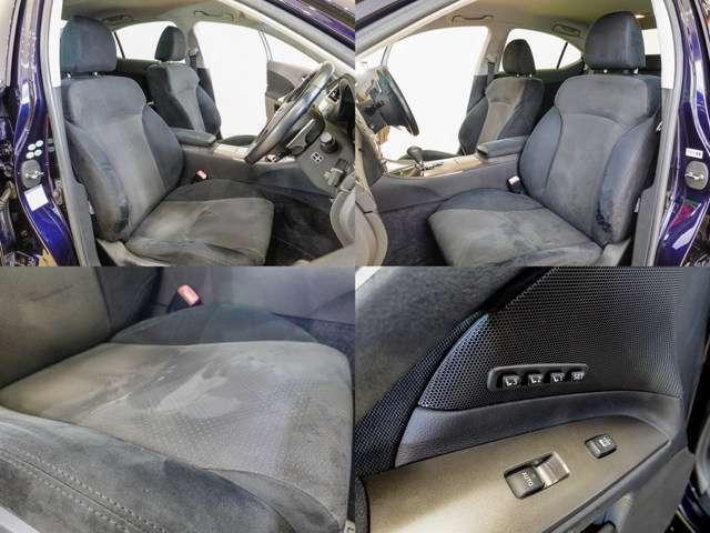 高級セダンの定番装備 メモリー機能付きパワーシート もちろん 運転席、助手席完備 シートの状態も良いですよ