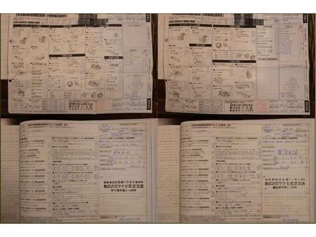 H24.25.26.27.28.29.30.R1年点検整備記録簿有り (H24.25.26.27.30.R1年ヤナセまたはシュテルン)  (H28.29年輸入車専門整備工場)  ディーラーや輸入車専門整備工場にて毎年点検整備を実施されています