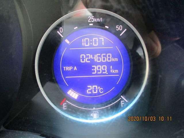 走行距離が少なく24.668km全体が良質