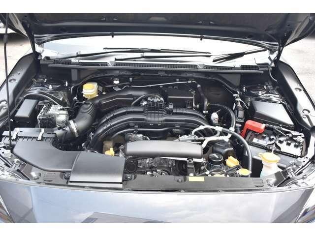 まごころクリーニングでエンジンも綺麗に清掃されてます