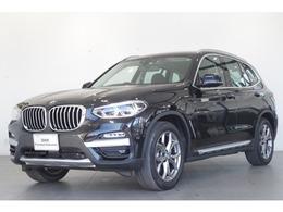 BMW X3 xドライブ20d xライン ディーゼルターボ 4WD 黒本革 純正HDDナビ 追従クルコン TV ETC