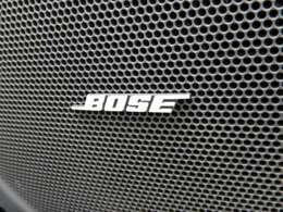 BOSEサウンドシステム搭載!!車内でも好きな音楽を高音質でお楽しみいただけます!