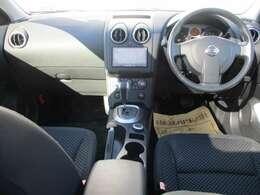 気持ちよく視界が広がる開放的な運転席