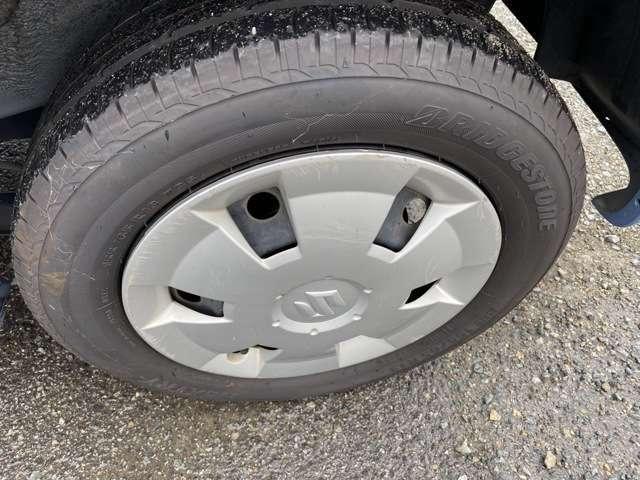 タイヤもまだまだ使えます!