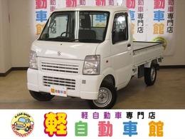 スズキ キャリイ 660 KCエアコン・パワステ 3方開 4WD マニュアル車