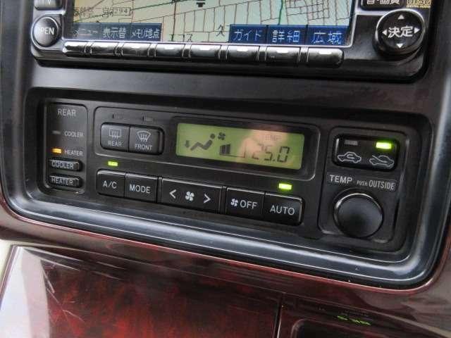 Bプラン画像:エアコンはオートエアコン♪パネルやスイッチ類には汚れやキズ等も少なくキレイな状態です♪