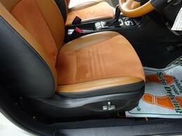 ■ 装備1 ■ タンカラーハーフレザーシート|運転席、助手席電動パワーシート