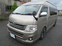トヨタ ハイエース 2.7 グランドキャビン 革シートカバー付き