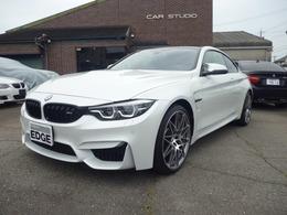 BMW M4クーペ コンペティション 走行6000キロ 6速マニュアル ワンオーナー