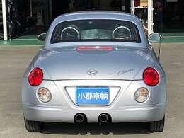 リアからの一枚♪任意保険、クレジット、JAFなど車のことなら当店にお任せ下さい!!あいおい損保代理店です。お客様とお車の安全をお守りいたします。無料お見積り致しますのでお気軽にご相談下さい!