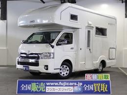 トヨタ ハイエース キャンピング アネックスリバティFS 4WD 2段ベッド ソーラーパネル FFヒーター