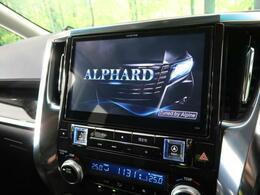 アルパインBIG-X10型ナビ装着車♪ラグジュアリー感漂う上質なデザインと、申し分ない高画質&高音質、そして性能を体感してみてください!大迫力の画面、捜査のしやすさ♪