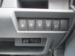 運転席右手側です。各種スイッチがあります。ETCも装着済みです。