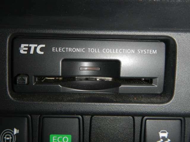 ビルトインETCを装備です。