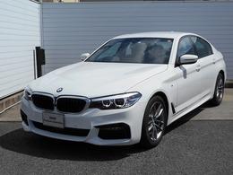 BMW 5シリーズ 523d xドライブ Mスピリット ディーゼルターボ 4WD 18AW地デジACCPアシストETCデモ禁煙認定車
