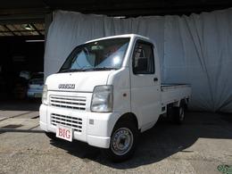 スズキ キャリイ 660 KCエアコン・パワステ 3方開 2WD F5速 ワンオーナー