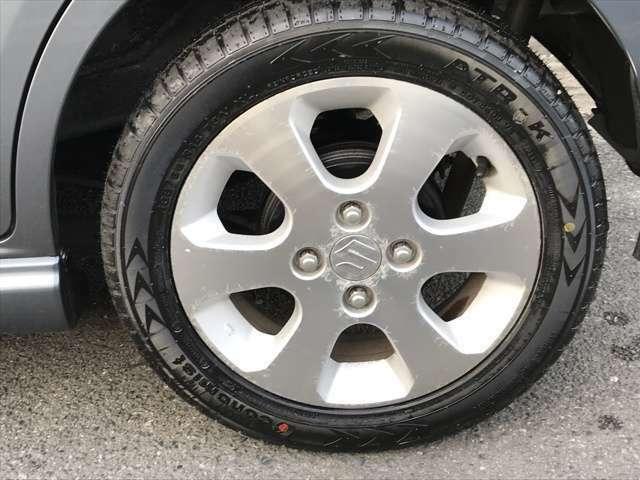 ちょっと前に新品タイヤに交換済みです