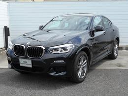 BMW X4 xドライブ30i Mスポーツ 4WD 19AW黒革地デジACCETCデモ禁煙認定車
