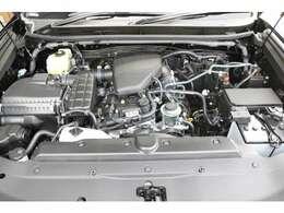 2TRガソリンエンジン!レスポンスと耐久性に定評があります!