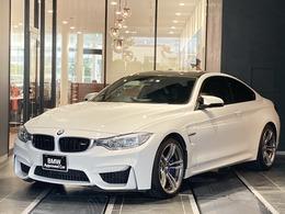 BMW M4クーペ M DCT ドライブロジック 禁煙車 HUD 黒革電動シート フルセグTV