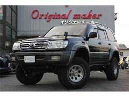 トヨタ ランドクルーザー100 4.7 VXリミテッド 4WD 8ナンバー 色替クロ リフトアップ SR