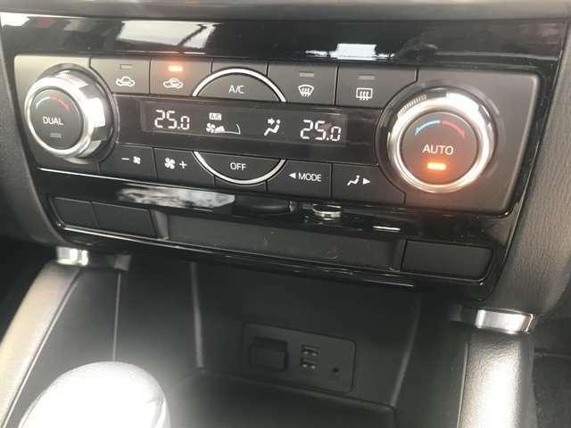 【オートエアコン】設定温度に応じて風量を自動で調整してくれます♪【左右独立機能】付き!