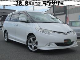 トヨタ エスティマ 2.4 G ユーザー買い取り車 フリップダウン