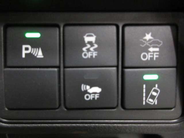 最新の安全技術ホンダセンシングを装備しておりますので、万が一の事故を軽減できますので安心してお乗り頂けます!