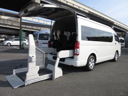 トヨタ ハイエースコミューター D 6AT ワイド福祉車両Dタイプ 車イス4台固定
