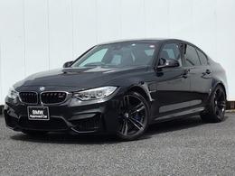 BMW M3セダン M DCT ドライブロジック ドライビングアシスト 黒レザー