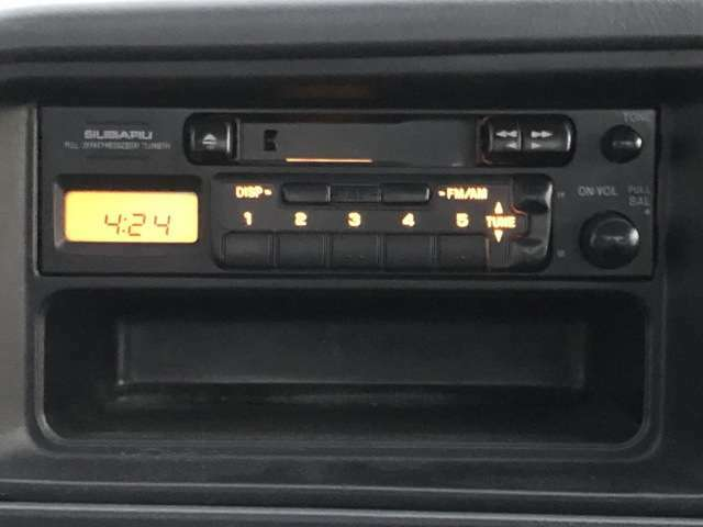 純正オーディオ♪カセットテープ!?お取替えもできます!