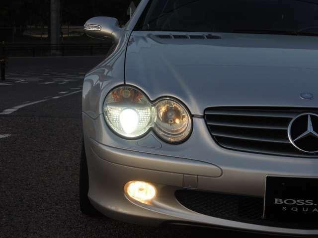 ■キセノンヘッドライト(レンズも綺麗です)!
