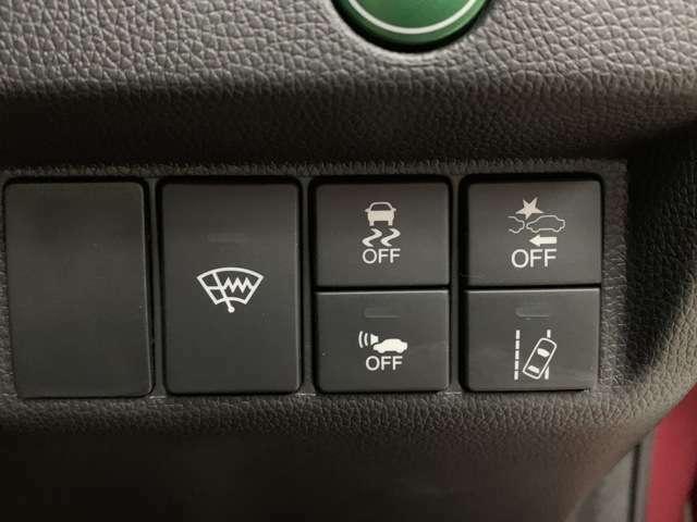 安全機能のホンダセンシングが搭載されています!