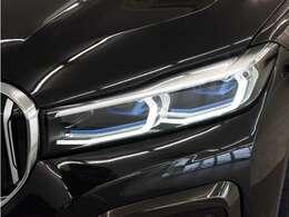 BMW レーザーライトを装備!レーザーヘッドランプはLEDに比べて、より遠方まで照射可能です!