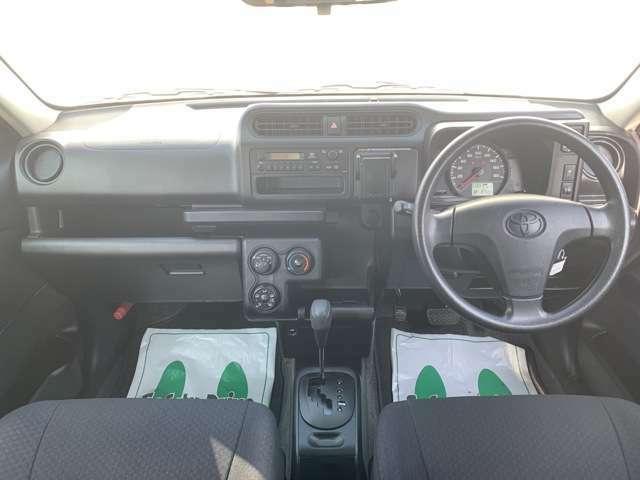 機能性に溢れた車内空間です♪