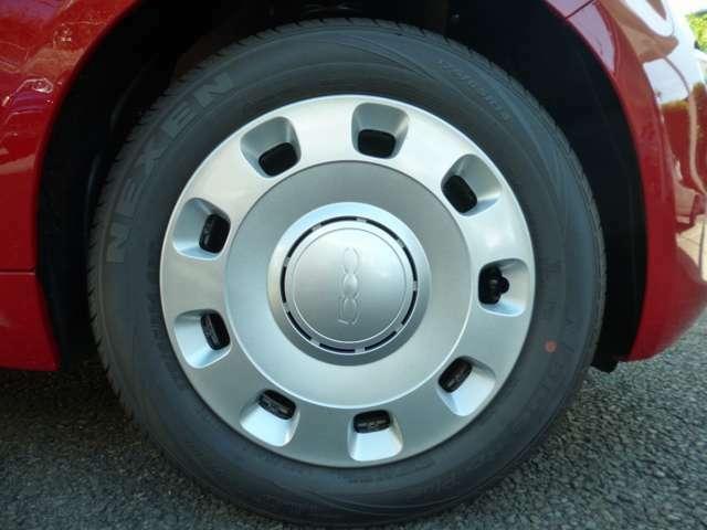タイヤは175/65R14。量販サイズで交換もリーズナブル!