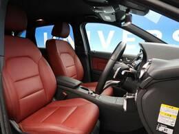 ●50台限定の特別仕様車のBクラスが入庫しました!クランベリーレッドのおしゃれなレザーシートです♪レーダーセーフティPKGが標準装備されています!