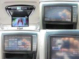 新品13.3インチ車種専用取付キット装着のLEDバックライトフリップダウンモニター!フルセグ・バックモニター・Btオーディーオ接続可♪