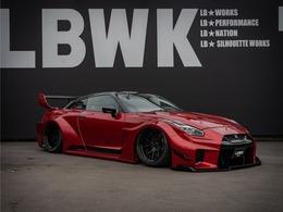 日産 GT-R 3.8 ブラックエディション 4WD LB-SILHOUETTE/エアサス/Fiexhaust