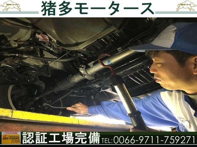 ☆修理依頼大歓迎☆プロの整備士による整備を実施。お車の細部までしっかりチェック・整備を行います!!