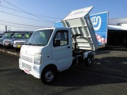 マツダ スクラムトラック ダンプ 4WD フロア5速マニュアル車