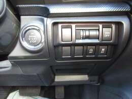 ボタンを押すとエンジンがかかるプッシュスタート付き!