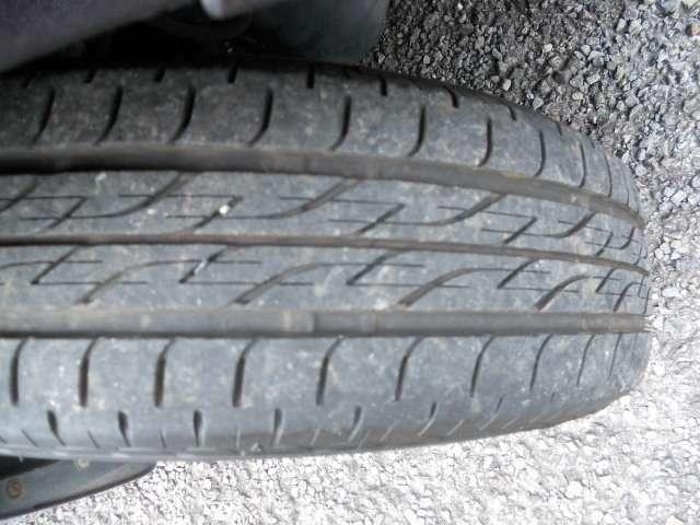 タイヤ溝あり!